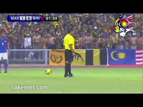 Malaysia vs Singapore 2-0 [12 June 2012] Safiq Rahim Owning ! Travel Video