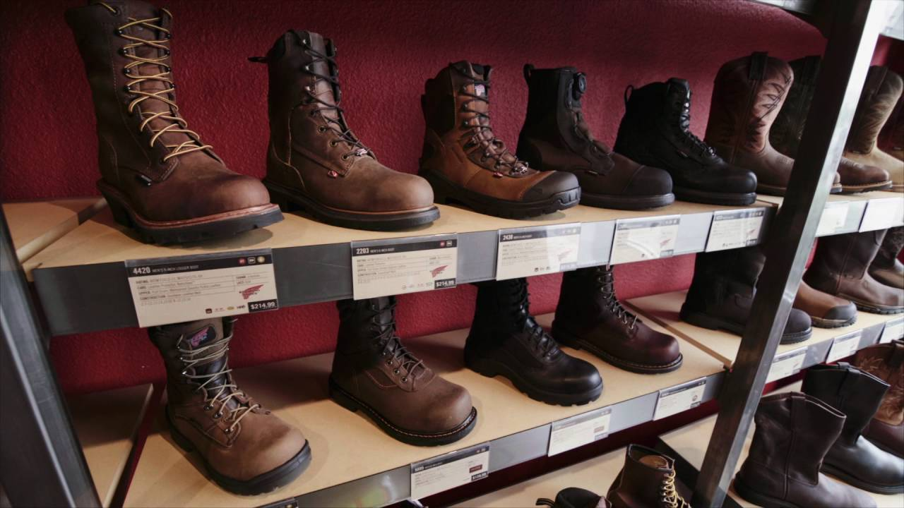 26ccd47f34e Industrial Sales | Safety Footwear Program | Red Wing Charlottesville