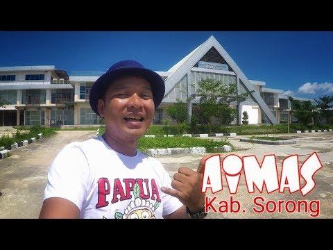 4 Tempat Paling Manarik di AIMAS Kab. Sorong Papua Barat (Papua vlog 169)