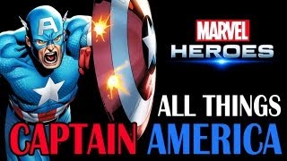 Video Marvel Heroes: All things Captain America - All powers, Skills, Ultimate Power, Costumes, and more! download MP3, 3GP, MP4, WEBM, AVI, FLV Juni 2018