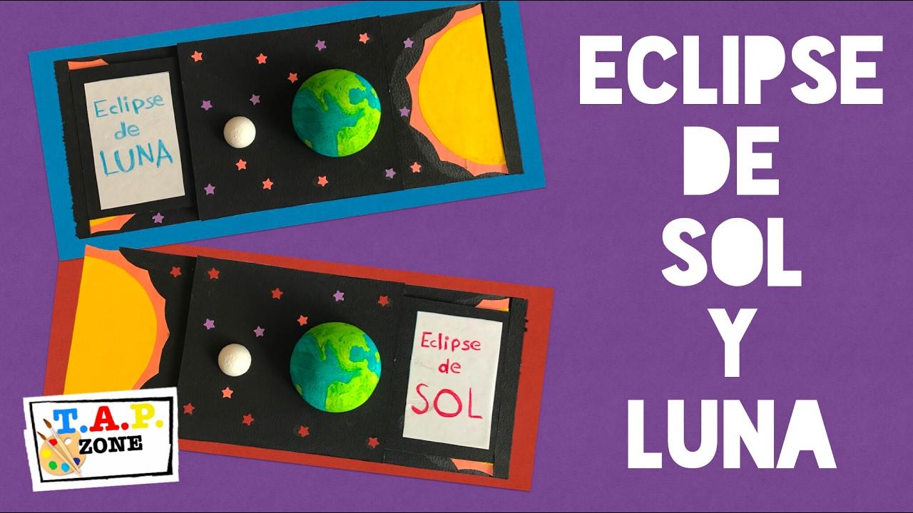 Como Hacer Una Maqueta Del Eclipse Solar Y Lunar Tap