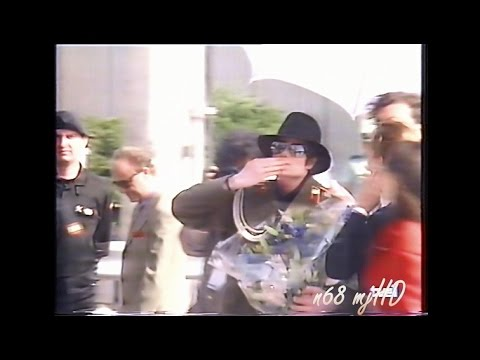 Michael Jackson in Zaragoza, Spain.1996 HWT (enhanced)