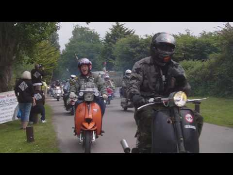 Hayling scooter rally rideout