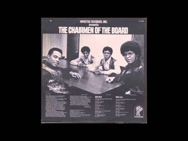 Chairmen of the Board ~ Give Me Just A Little More Time (Tom Moulton Mix)