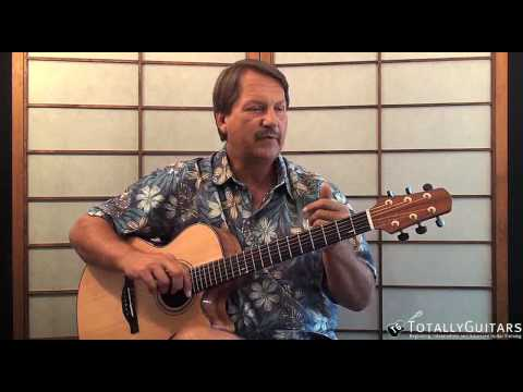 Listen To The Music Acoustic Guitar Lesson - Doobie Brothers