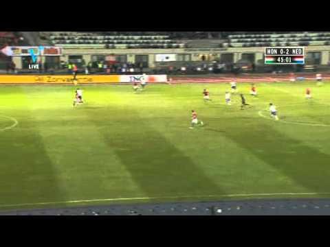 Kwalificatie EK 2012 Hongarije vs Nederland Goal Ibrahim Afellay