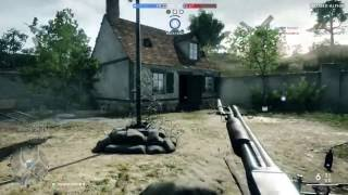 Battlefield 1 Closed Alpha : St. Quentin Scar : Domination : Xbox One