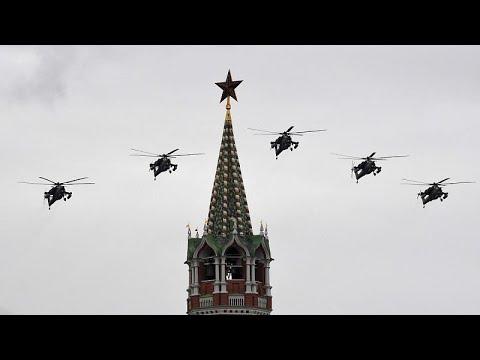 Rusya 9 Mayıs Zafer Günü'nü kutladı, askeri geçit töreni Covid-19'a takıldı