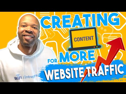 WiFi Entrepreneur: Creating Content For More Traffic | Online Affiliate Marketing Guide: Journal #16