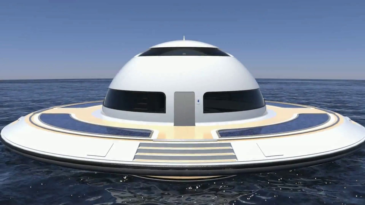 jet capsule updates U F O houseboat for open water
