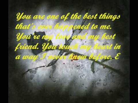 My Love Is Here By: Erik Santos W/ Love Quotes   YouTube