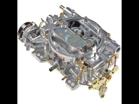 Rods Springs and Jets install in Edelbrock 1406 Carburetor