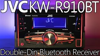 JVC KW-R910BT Double-Din Bluetooth Receiver - Review