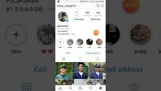Delete instagram account simply