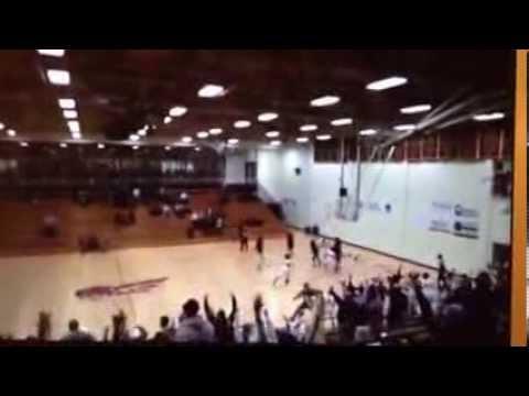 Erskine's Haleigh Spaulding Game-Winning Shot and Celebration