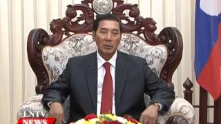 Lao NEWs on LNTV: Laos officially announces the 2015 census.27/2/2015