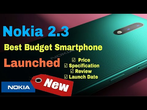 Nokia 2.3 price| Specification|review|Nokia 2.3 mobile launched|Best smartphone under 9000