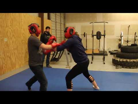 Ranger Up Military and MMA Apparel: Man vs. Woman Boxing Fight