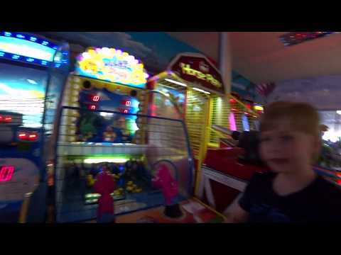 Влог/Выходной в центре г.Железнодорожный/Игротека в Юнионе(2 часть)