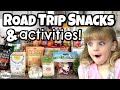 Cross Country with FOUR KIDS  🚙  Road Trip SNACKS and ACTIVITIES