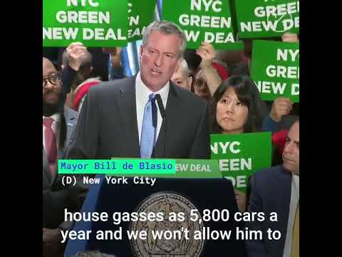 New York Mayor Bill de Blasio Heckled by Trump Supporters at Trump Tower