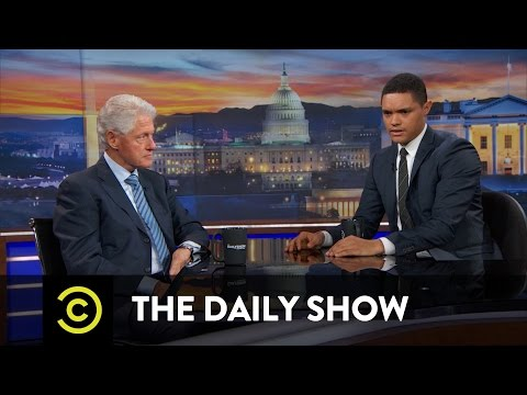 Bill Clinton - Hillary Clinton and the Changing Political Landscape: The Daily Show