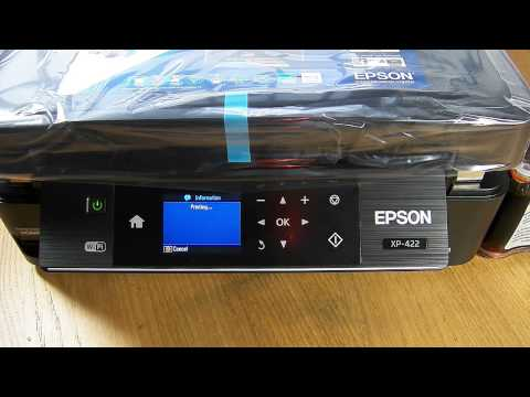 how to set up espon printer