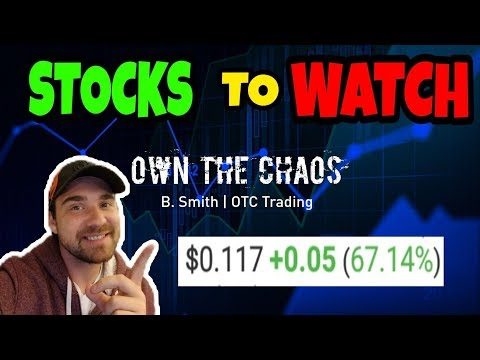 PENNY STOCKS to WATCH  | HOW to TRADE PENNY STOCKS