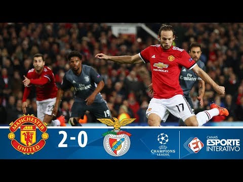 Melhores Momentos - Manchester United 2 X 0 Benfica - Champions League (31/10/2017)