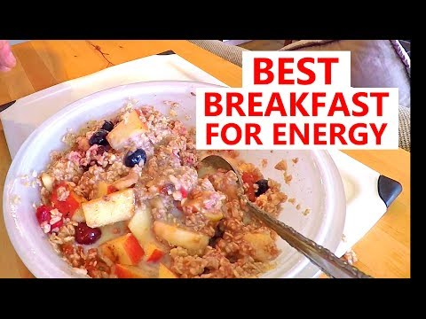 THE BEST BREAKFAST FOR ALL DAY ENERGY