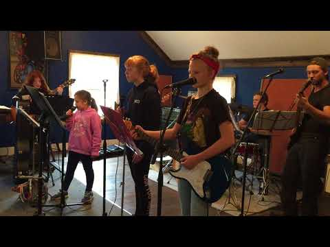 Music Depot Modern Oldies Cover of Money by The Beatles in Rehearsal