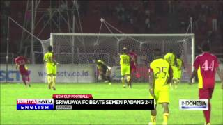 Semen Padang Eliminated in SCM Cup Loss to Sriwijaya