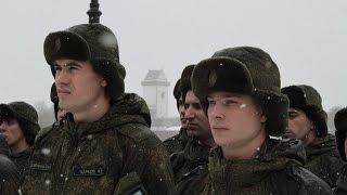 Военные провели спортивно-культурные манёвры у границ НАТО в Кингисеппском районе (фото и видео)