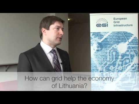 EGI User Forum 2011 - Minister of Economy of Lithuania
