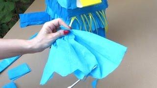 Как сделать пиньяту своими руками