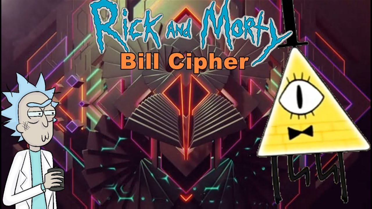 Bill Gravity Falls Wallpaper Rick And Morty Bill Cipher Watching You Hd Youtube