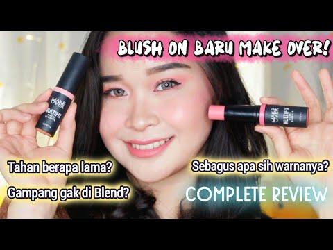 REVIEW DETAIL Blush On Terbaru! MAKE OVER Multifix Matte Blusher - Tahan Berapa Lama..? #BLUSHFIXUP