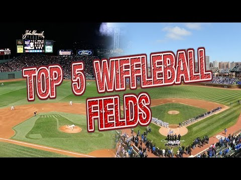 TOP 5 WIFFLEBALL FIELDS OF ALL TIME!!!