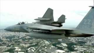 Amazing Fighter Jets F-15 and F-16 in Flight HD