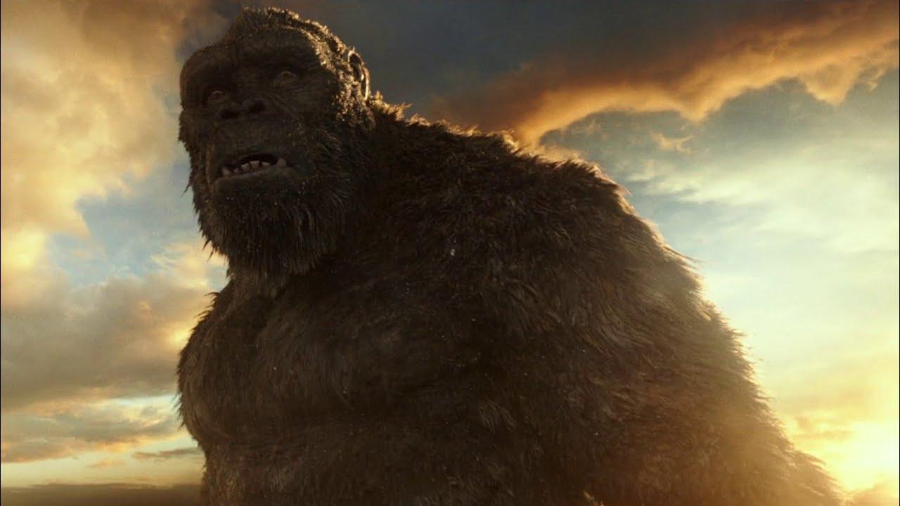 Godzilla Vs. Kong - Kong Jumps To The Aircraft Carrier Scene