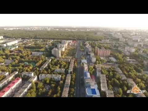 Ставрополь с высоты 200 метров - юго-западный район Тухачевского 50 лет ВЛКСМ