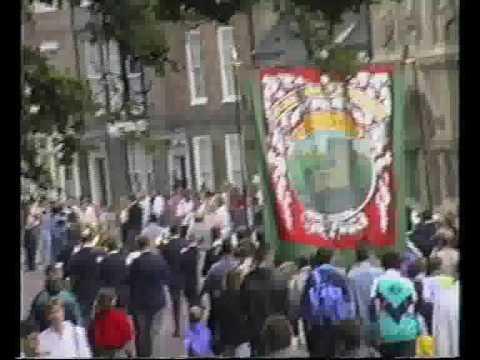 1992 Durham Miners Gala - Easington