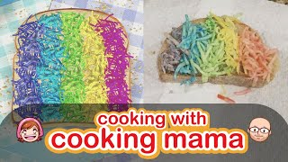 Rainbow Grilled Cheese | Cooking with Cooking Mama!