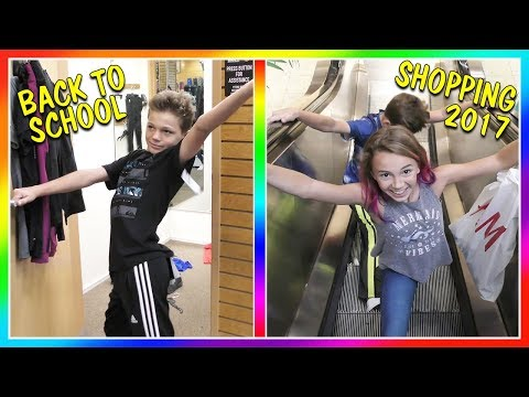 BACK TO SCHOOL SHOPPING SHARK ATTACK! | We Are The Davises