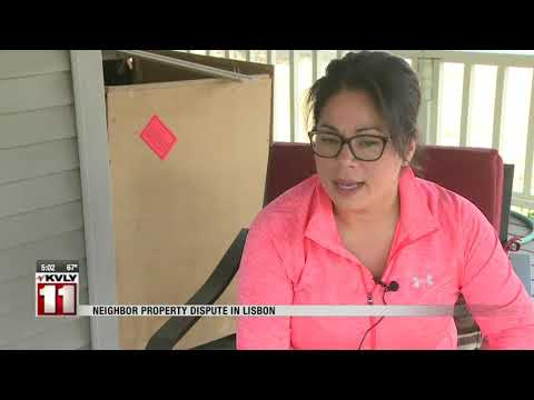 News   Lisbon family in ongoing dispute with neighbor