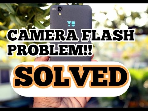 Camera Flashlight problem solved!![yureka/yureka+]
