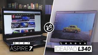 Lenovo Ideapad L340 VS Acer Aspire 7 2019! - Best Subtle Gaming Laptop?