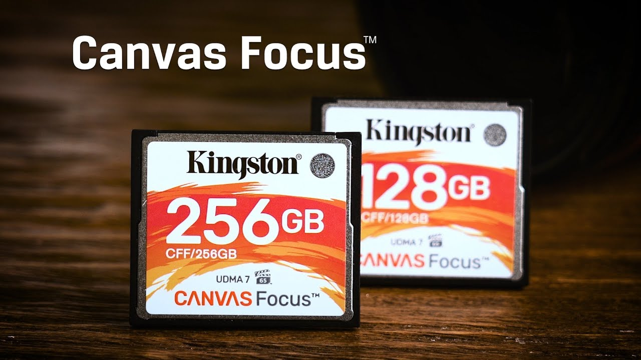 Compact Flash Karte.Dslr Kamera Cf Karte Kingston Canvas Focus Compactflash