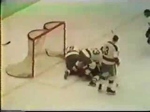 Pittsburgh Penguins Michel Briere First NHL Goal