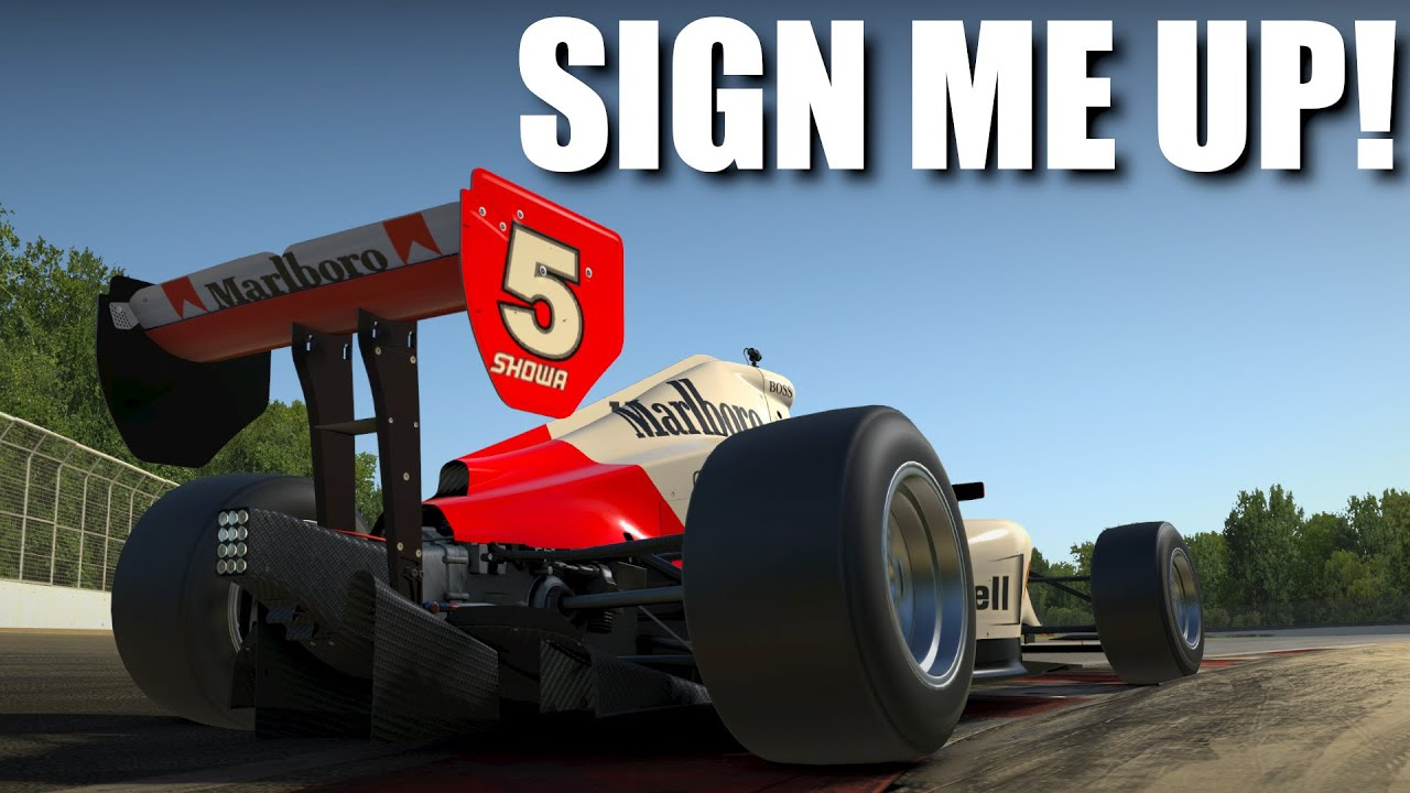 A single seater that I like?   iRacing Indy Pro 2000 @ Montreal